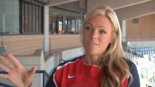 Jennie Finch discusses parents, softball, and the future