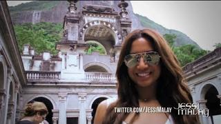 Jessi Malay - Getting Wild in Brazil