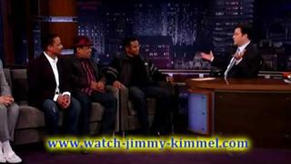 Jimmy Kimmel Live - Pee-wee Herman, Jermaine, Tito & Marlon Jackson