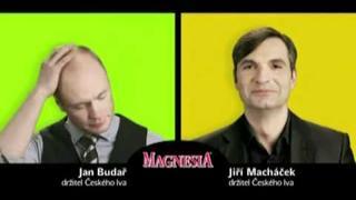Jiří Macháček a Jan Budař - reklama - Český lev 2010 kompletní série