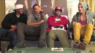 JLS talk about Jukebox, and dance about girls, girls - and girls!