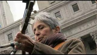 "JOAN BAEZ @ #OWS Foley Sq (11/11/11) Veteran's Day ""Where's My Apple Pie?/Time To Occupy"""
