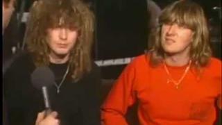 Joe Elliott and Rick Savage Interview (1983)