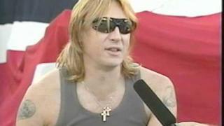 Joe Elliott Interview (California State Fair Expo 2000)