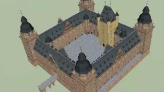Johannisburg Castle 3D-Model