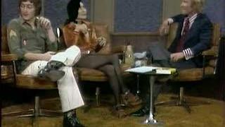 John Lennon and Yoko Ono Dick Cavett Show  Excerpt 2