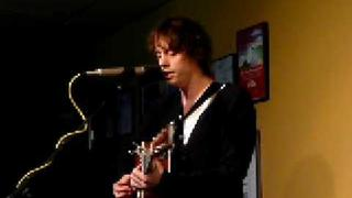 Johnny Borrell live acoustic at Mtn Music Lounge, Seattle Feb 5, 2009