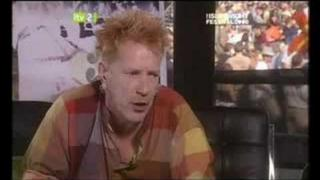 JOHNNY ROTTEN INTERVIEW 14.6.2008