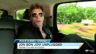 Jon Bon Jovi 'Not Surprised' by Sell-Out Shows, Discusses Origin of Famous Hair (08.01.11)