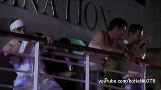Jon Knight Singing On NKOTB Cruise 2010