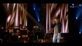 Jonne Aaron *Viisitoista kesää* 15 Summers at Kari Tapio's memorial concert,18th Oct 2011