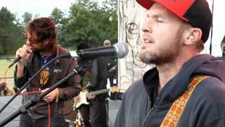 Joseph Arthur, Jeff Ament, Mike McCready & Matt Cameron - When The Fire Comes live 9/4/11 PJ20