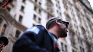 Josh Fox, Sean Lennon & Rufus Wainwright at Occupy Wall Street