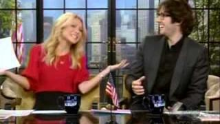 Josh Groban Co-hosts Live With Kelly 02/16/2012 -- Part 1 of 3 parts