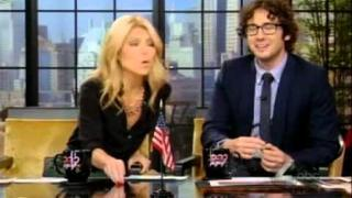 Josh Groban cohosts Live with Kelly on 12-07-2011 --- Part 1