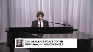 Josh Groban Sings Kanye West Tweets