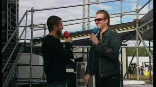 Josh Homme - Zane Lowe interview @ T in The Park 2007