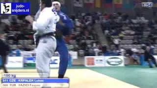 Judo 2010 World Cup Prague: Lukas Krpalek (CZE) - Feyyaz Yazici (TUR) [-100kg]