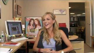 Julie Benz From Dexter Dishes With TV Guide Magazine!
