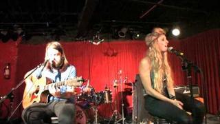 """Juliet Simms, Tommy Simms, """"Hush"""" Sept 09"""