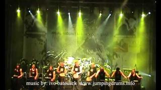 Jumping Drums Drum and Walk Live 2O11 - For Power.wmv
