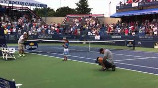 Kaitlyn Maher - 7yo - National Anthem at Legg Mason Tennis Tourney - 8/2/2011