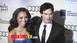 Kat Graham and Ian Somerhalder