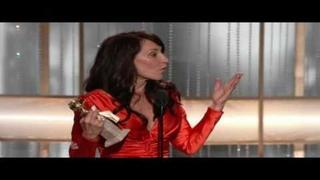 Katey Sagal wins Golden Globe (HD)