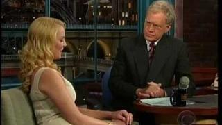 Katherine Heigl on the Late Show w/David Letterman