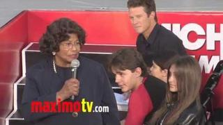 Katherine, Paris, Prince, Blanket, Tito & Jackie Jackson at MJ's Hand And Footprint Ceremony