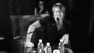 Keith Urban Talks About Forgetting The Words On Stage