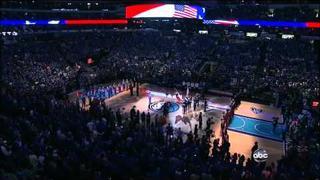 Kelly Clarkson National Anthem NBA Finals 2011 Vocal Showcase [HD]