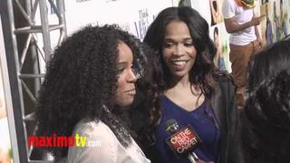 """Kelly Rowland and Michelle Williams at """"Think Like A Man"""" Premiere"""