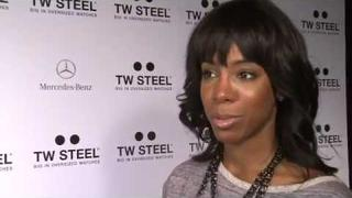 Kelly Rowland Talks XFactor at the TW Steel Party