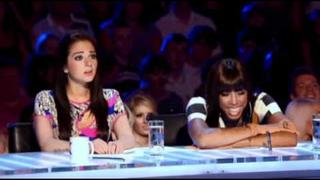 Kelly Rowland Tulisa Contostavlos Gary Barlow Louis Walsh The X-Factor 30