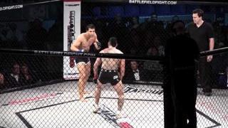 Ken Hitman Tran vs Marcus Lelo Aurelio round 1