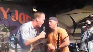 Kenny and Peyton Manning @ Sloppy Joe's March 09