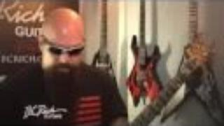 Kerry King of Slayer and his B.C. Rich Guitars