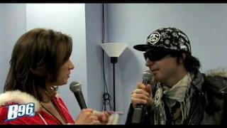 Kevin Rudolf Interview @ B96 Jingle Bash