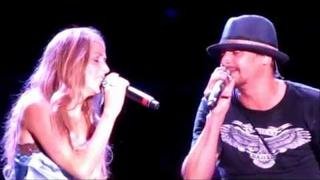 KID ROCK Cowboy/Picture with Sheryl Crow/Bawitdaba 7.10.11 Hershey PA