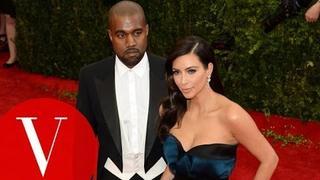 Kim Kardashian and Kanye West at the Met Gala 2014 - The Dresses of Charles James - Vogue