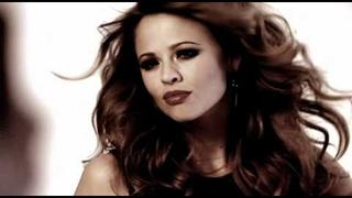 Kimberley Walsh - behind the scenes at the Right Guard Xtreme Dry shoot