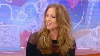 Kimberley Walsh Interview (Loose Women - 19.01.2012)