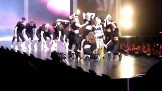 Kimberly Wyatt and her majesty and the wolves Clothes show live 2011