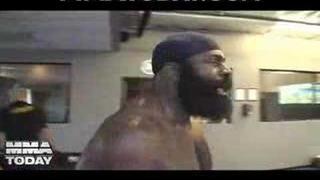Kimbo trenuje boxing