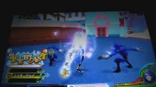 Kingdom Hearts: Birth by Sleep - Fun with Aqua - All Ice Creams Get! & Ice Blast Command Style