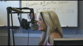 KiSS 92.5's Adam Wylde chats with Natalie Horler from Cascada!