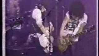 Knockin' On Heaven's Door Ritz '88 - Black, white & color
