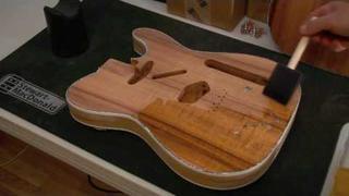 Koa Wood Tele #5