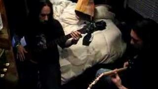 Korn - Fieldy and Clint Lowery Practicing Pre Show